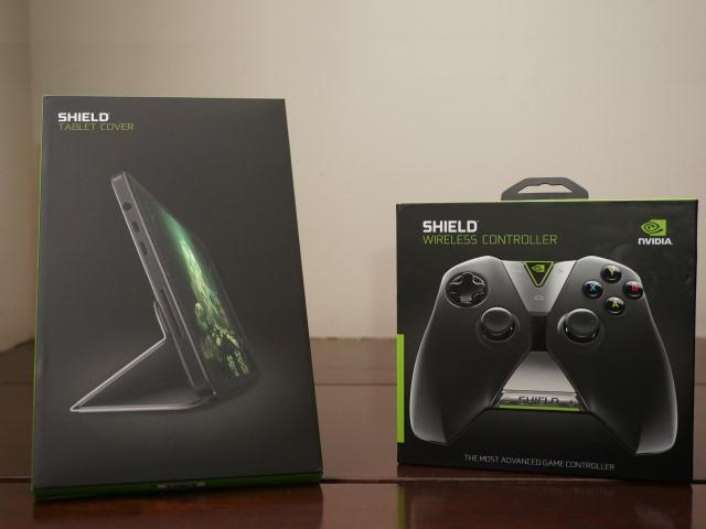 NVIDIA Shield Tablet 專屬控制器、保護蓋:規格介紹篇