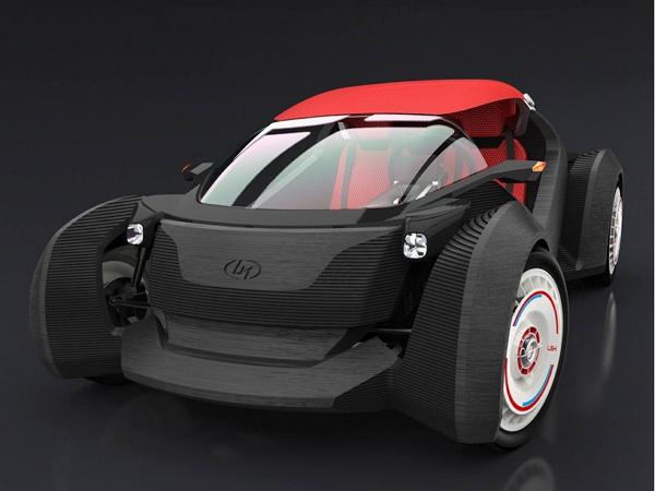 這回真的能跑,全球首輛 3D 列印汽車問世