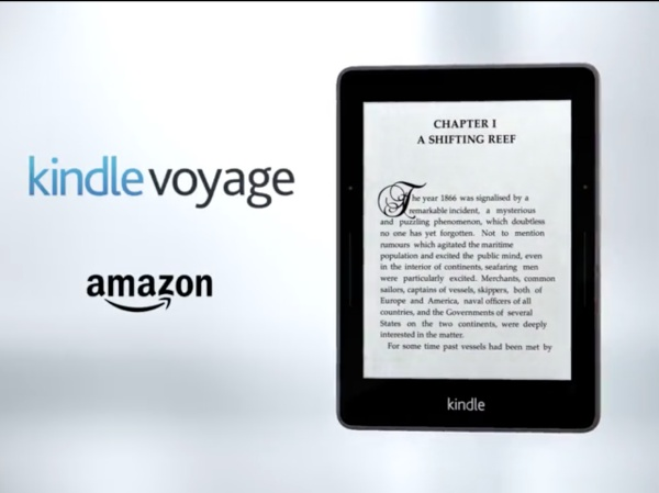 Amazon 產品線更新,更輕更薄的 Kindle Voyage 只要 199 美元
