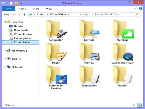 Windows 終能同步 iCloud 資料夾 就像Dropbox一樣