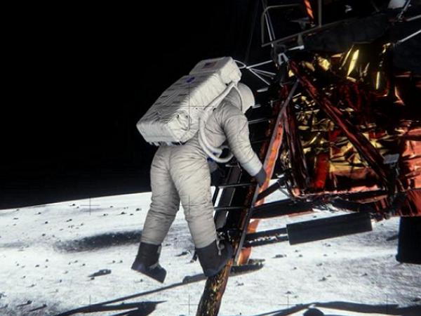 登月影片是假的? NVIDIA藉由3D技術還原真相