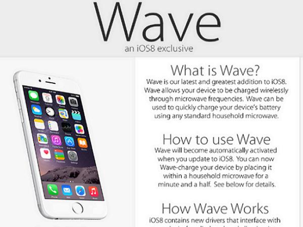 江山代有謠言出,裝了iOS 8 之後就能用微波爐快速充電,你信嗎?