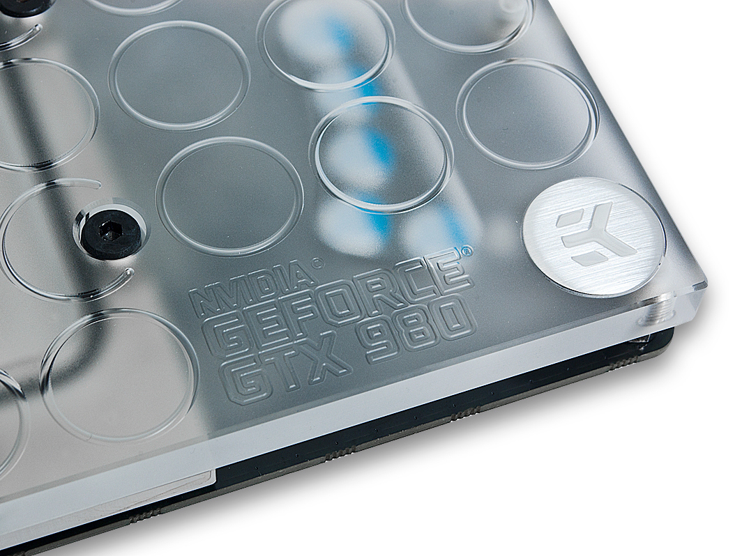 EKWB 推出 NVIDIA GeForce GTX 980 水冷頭,採新式噴射水道設計