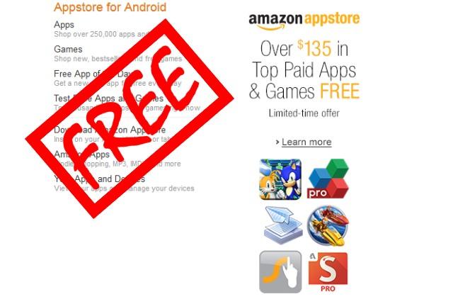 Amazon App商店佛心來著,美金135元App免費送