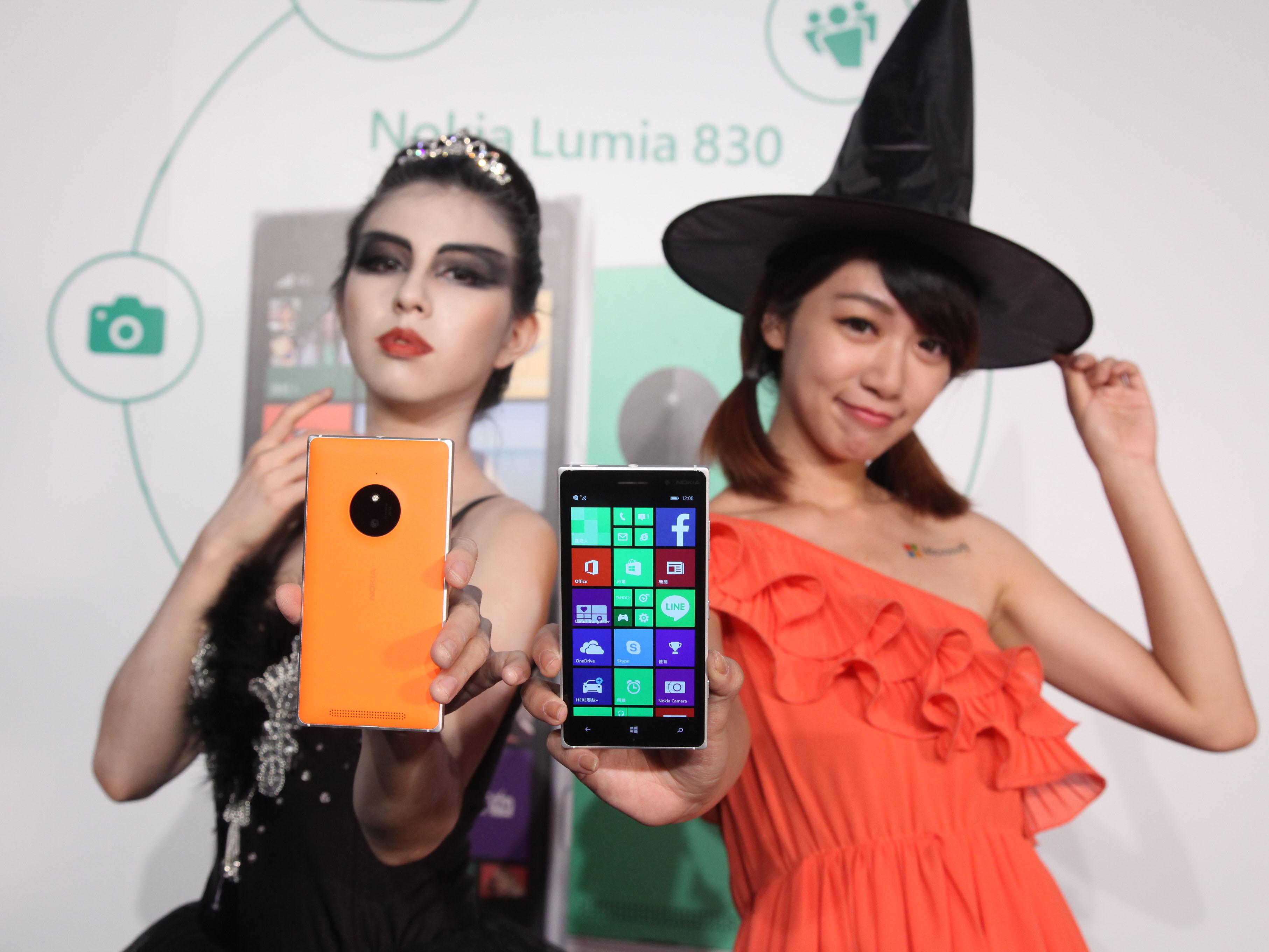 微軟 Nokia Lumia 830發表,LTE 全頻、搭載 PureView,台幣12,900元