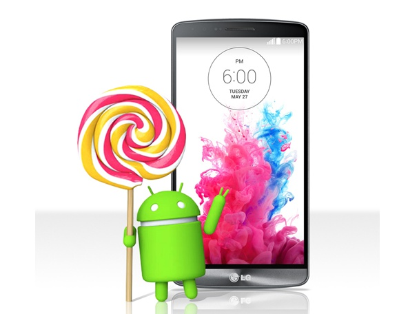 LG 宣布 G3 從本週開始可更新至 Android 5.0 Lollipop