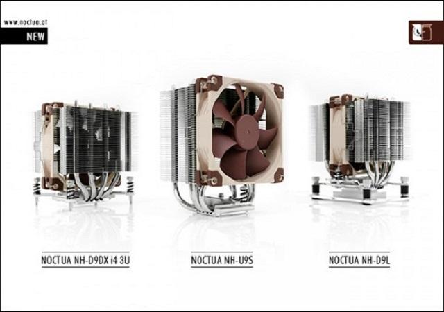 Noctua 三款新型 92mm 處理器空冷散熱器 ,小機殼也能裝
