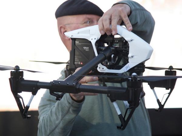 中國DJI發表新的4K遙控航拍機 Inspire 1