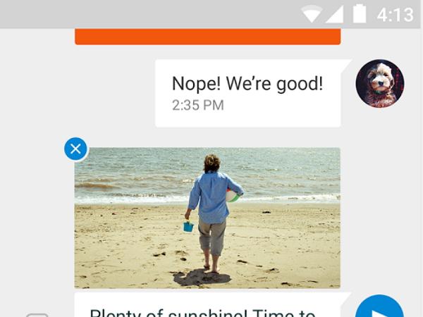 又有一個Messenger!Google Messenger 手機版上架