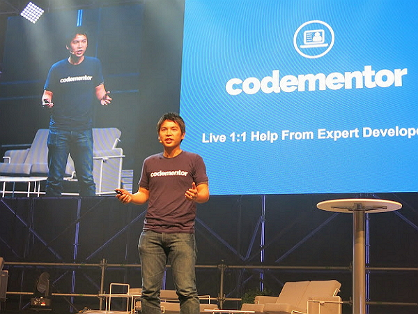 台灣團隊Codementor,站上歐洲Slsuh創業舞台!