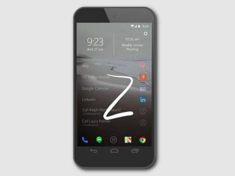 Nokia Z launcher 動手玩,智慧搜尋的新型態手機桌面