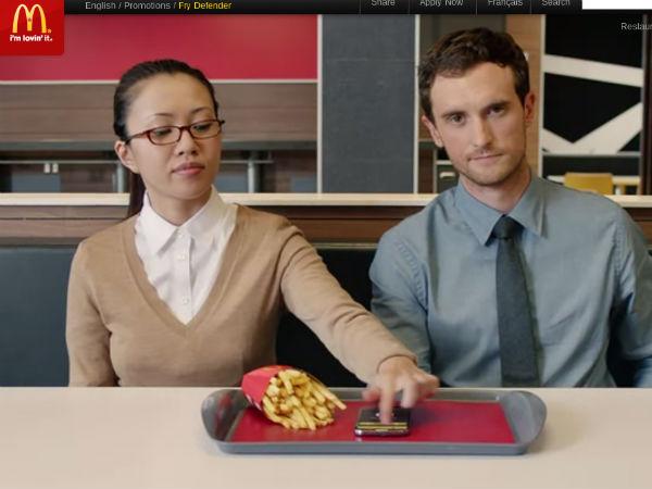 不要動我的薯條!麥當勞推出保護薯條 APP 都是為你
