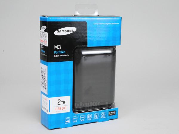 Samsung M3 2.5 吋外接硬碟實測,薄型機身內藏 2TB 大容量