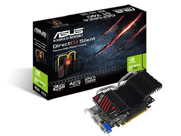 Asus 新推出 GTX 750 DirectCU Silent,無風扇零噪音中階顯示卡