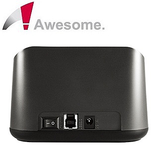 和順電通自有品牌第二彈-Awesome 儲存達人2.5/3.5吋超高速硬碟外接座AWD-D01S6