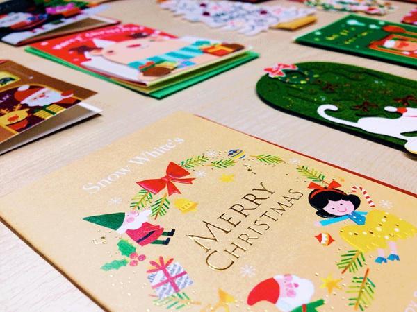 絕對無敵!超老梗聖誕卡片字體大匯集