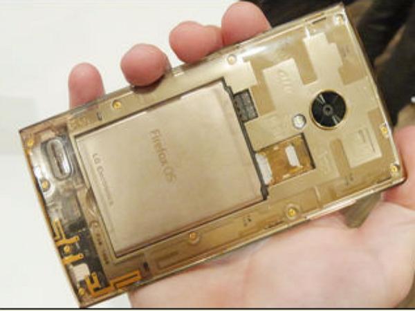 Firefox 首款高階智慧機 LG Fx0 日本發佈,半透明外殼開放設計