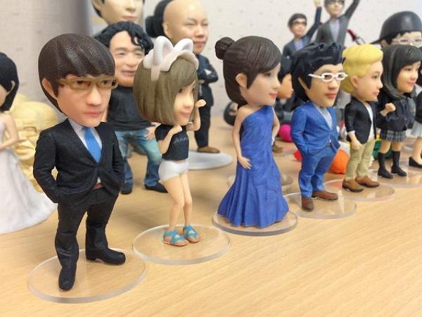 只要一張正面個人照,你就可以偷偷幫好友製作這樣的一個3D人形