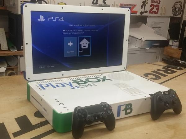 神人神改裝!一台遊戲筆電,左玩PS4右玩Xbox One都隨你