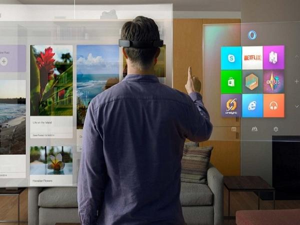 Windows 10發表會上的意外驚喜:微軟HoloLens擴增實境應用