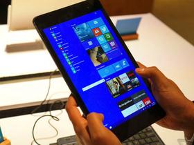近距離觀看,這就是 Windows 10 在小平板上的樣貌