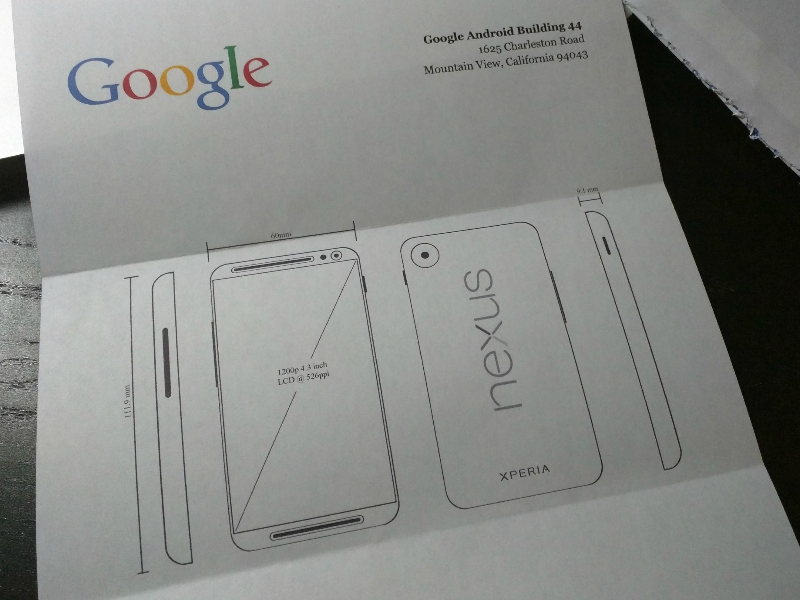 下一款 Nexus 手機由 Sony 代工?設計神似 HTC One M8 | T客邦