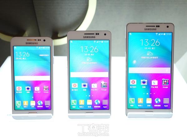 Samsung Galaxy A7 金屬大螢幕手機把玩,薄、輕、金屬質感的中階機