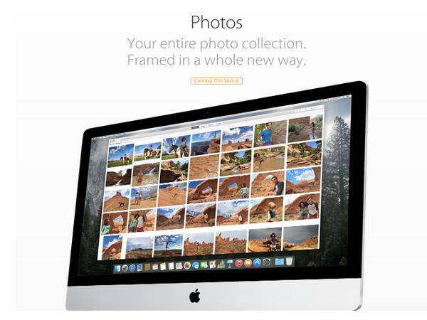 Mac下一代相片應用Photos功能公開,準備跟你的iPhoto告別吧!