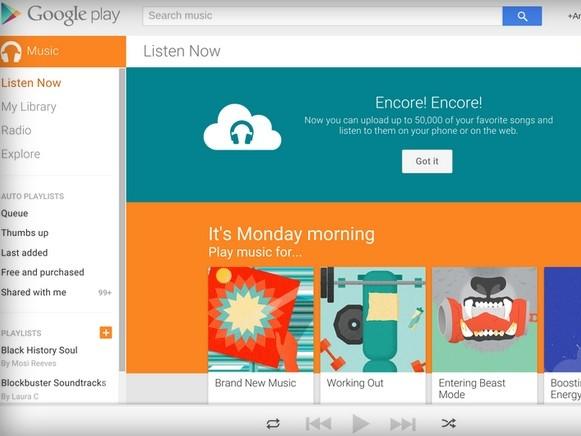 Google 現在可以讓你免費上傳 50,000 首音樂到雲端