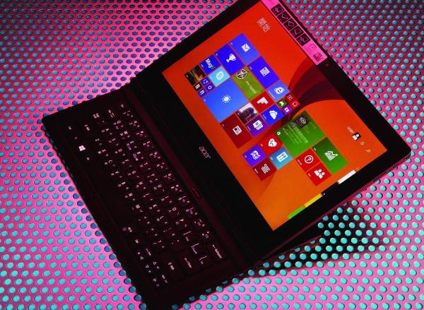 Acer Aspire Switch 12 評測:筆電/平板/帳篷/播放/桌機 5合1 變形合體