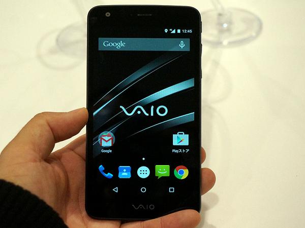 日本通信 VAIO Phone VA-10J正式發表,實機亮相