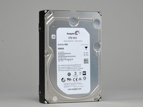 Seagate Archive HDD 8TB 實測,價格平實的大肚量企業級硬碟