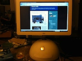 iMac G4也能用觸控螢幕
