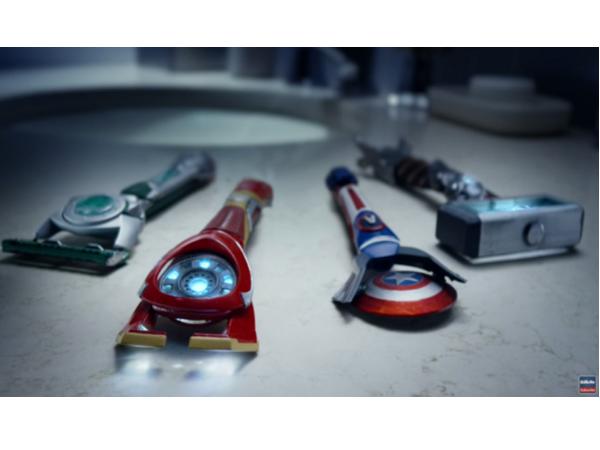 鋼鐵人、索爾怎麼刮鬍子?吉列刮鬍刀 X 史塔克工業的概念刮鬍刀告訴你