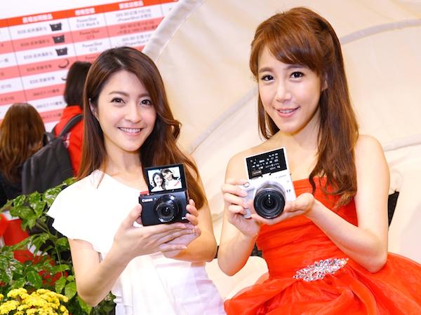 2015 春電 ShowGirl:Canon展區 ShowGirl