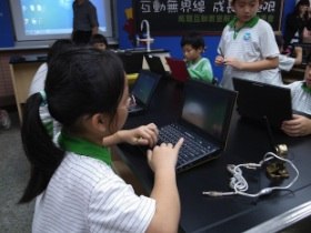 Dell互聯教室入侵台灣國小