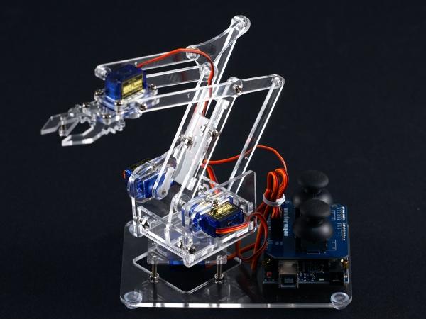 【Maker Club】自己做藍牙遙控機械手臂:MeArm.Joystick