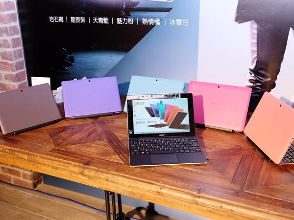 Acer 推出二合一筆電 Switch 10、膠囊 PC Revo One、曲面電競螢幕