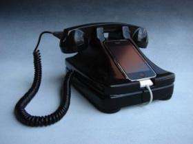 iRetrofone Base 復古造型電話的iPhone底座