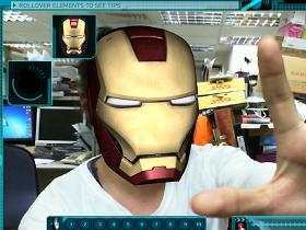 只要有Webcam,你也可以當鋼鐵人