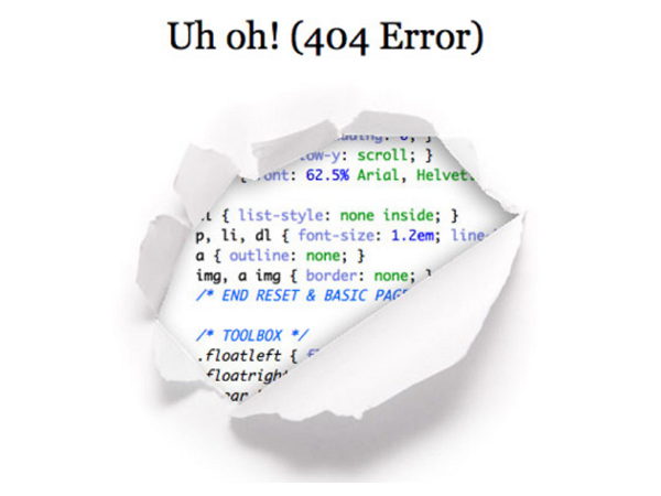 一個為微軟節省了4600萬美元的「404 Error」頁面