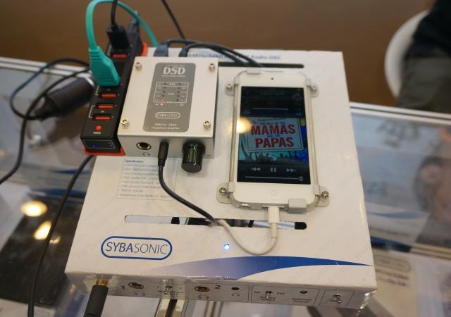Sybasonic 全新入門款 DSD高音質解碼器 , 70美元讓手機享受高音質