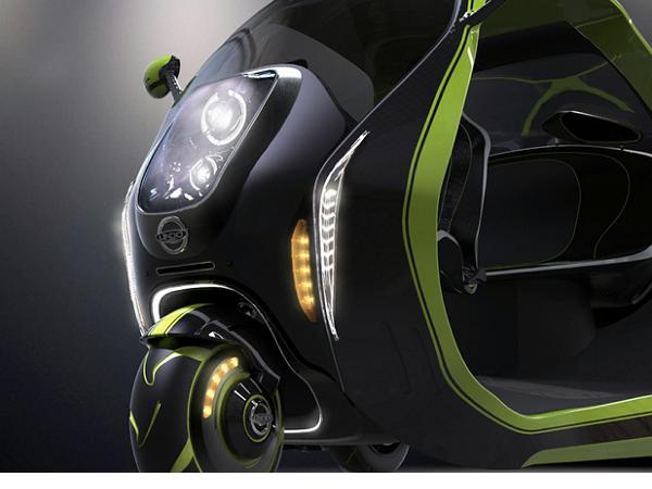 這輛智慧電動三輪車如何幫忙改善城市交通?