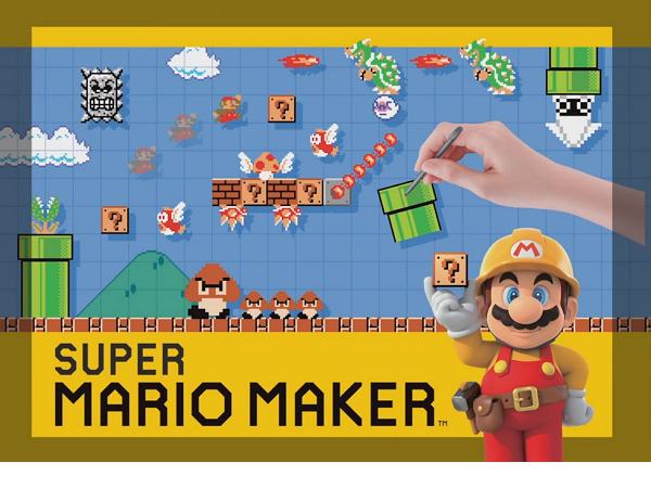任天堂發表Super Mario Maker ,喪心病狂的關卡自己設計
