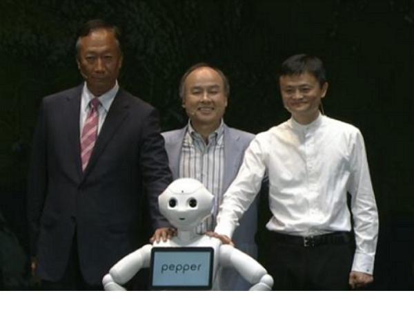 軟銀結盟阿里巴巴、富士康,將機器人賣向全球 | T客邦