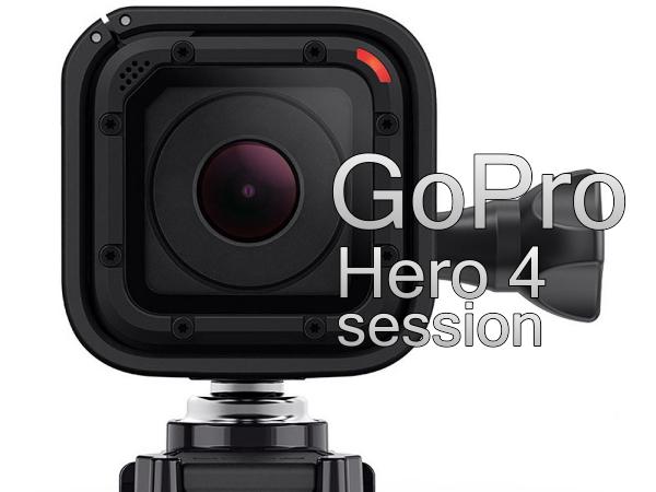 GoPro 推出 Hero 4 Session,防水十米且體積更小,不過說好的 4K 呢?