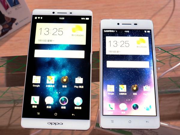 又像 iPhone 又像HTC,OPPO 推 R7/R7 plus 大螢幕雙機