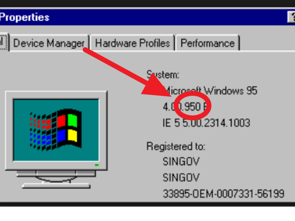 科技考古:Windows 95發行前最終版號為950,為什麼Windows 10 是10240?