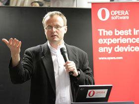 Opera技術長Håkon Wium Lie來台,談HTML5與CSS3