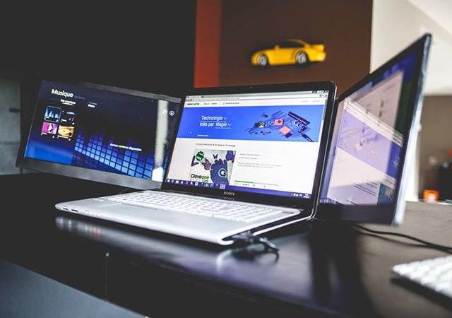 筆電升級3螢幕,可自由旋轉搭配多種使用模式